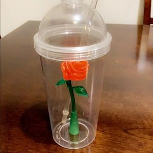 Disney Beauty & the Beast light up straw cup